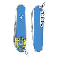 Нож Victorinox Spartan Ukraine Герб 1.3603.7R6
