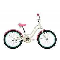 """Велосипед 20"""" Pride Angel белый/розовый 2017"""