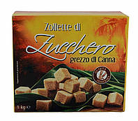 Цукор тростинний zollette di Zucchero, 1кг