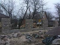 Каменный забор, Киев (Осыково), фото 1