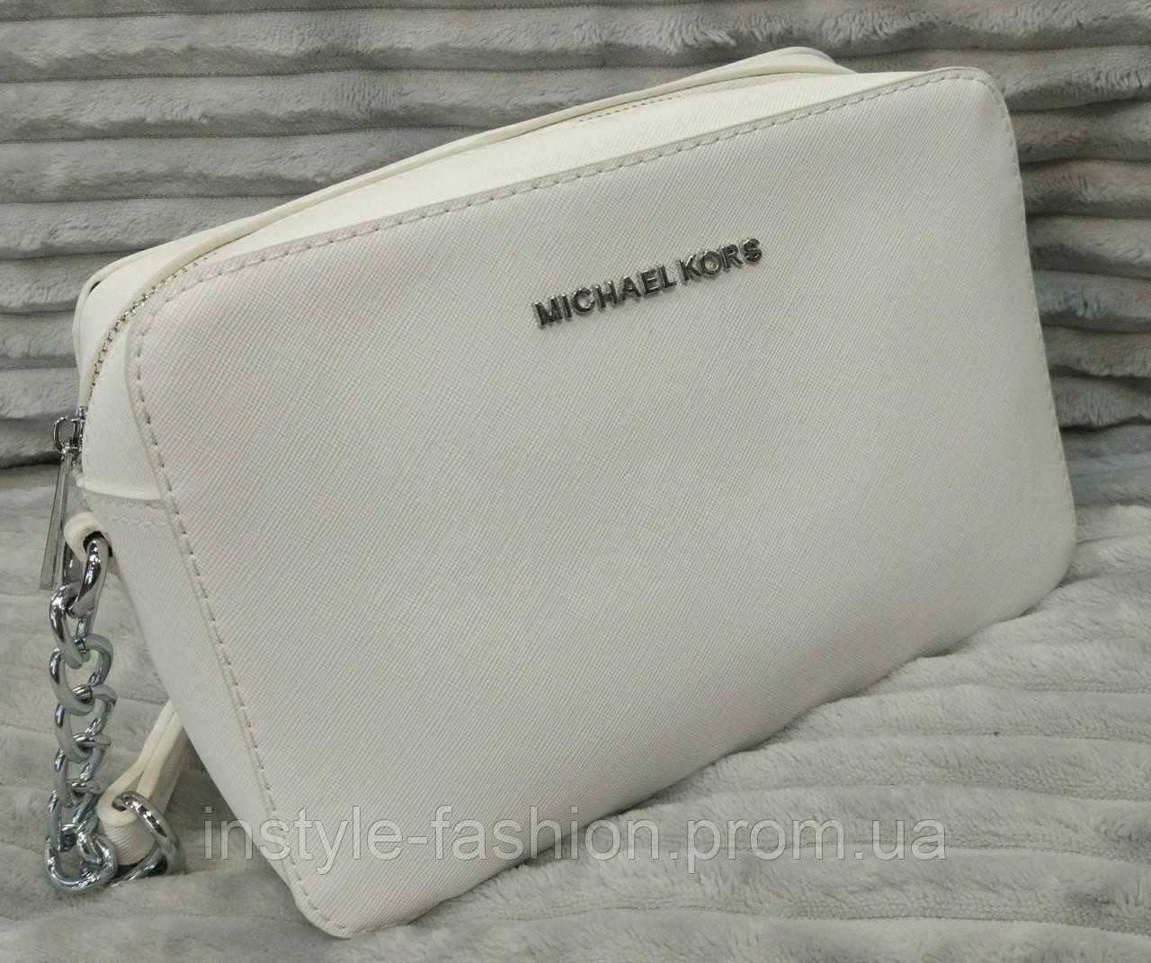 Сумка клатч Michael kors MICHAEL KORS через плечо белая