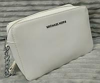 Сумка клатч Michael kors MICHAEL KORS через плечо белая , фото 1