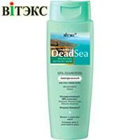 Витэкс - Косметика Мертвого моря Dead Sea Cosmetics Шампунь-spa минеральный для всех типов волос 400ml