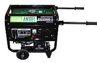 Генератор Iron Angel EG 3200 E-2 (с колесами) (2,8 кВт, электростартер)