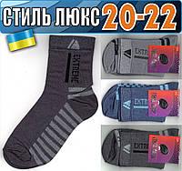 Детские носки демисезонные СТИЛЬ ЛЮКС Украина 20-22р  ассорти    НДД-304
