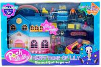 Кукольный дом с фигурками 1124B