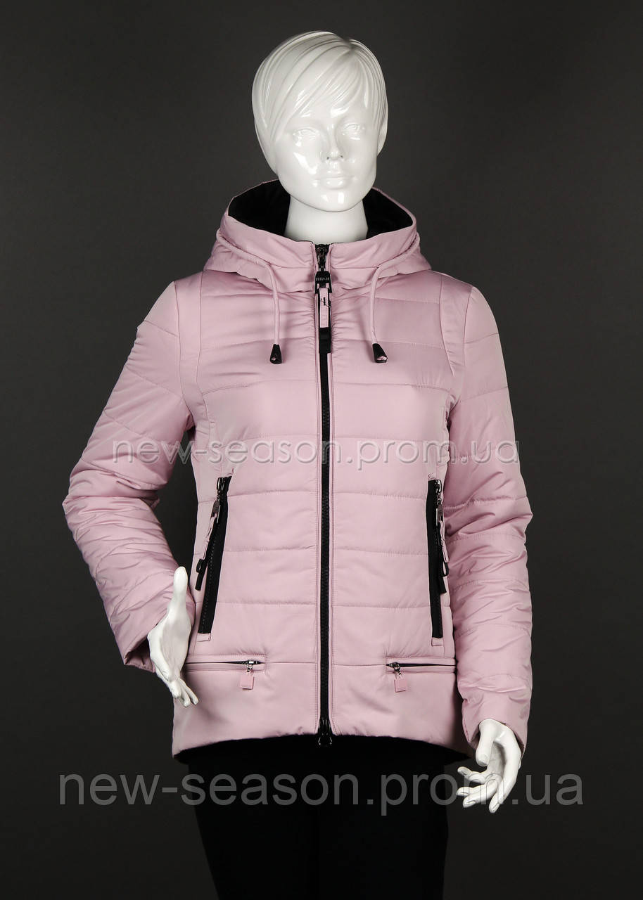 Куртка демисезонная Peercat 17-787 розовая