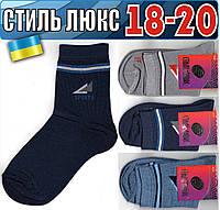 Детские носки демисезонные СТИЛЬ ЛЮКС Украина 18-20р   ассорти    НДД-306