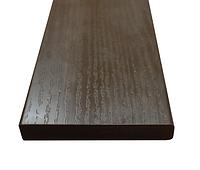 Доска ПВХ с текстурой дерева Коричневая