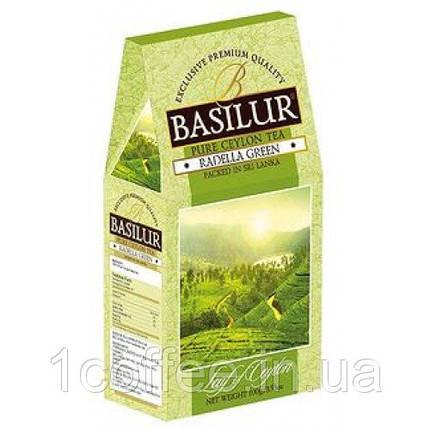 Зеленый чай «Раделла», коллекция Лист Цейлона (картон)100гр, фото 2