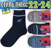 Детские носки демисезонные СТИЛЬ ЛЮКС Украина 22-24р   ассорти    НДД-308