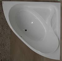 Ванна акриловая угловая КМТ Каноє 5мм 140 X 140 с ножками и панелью