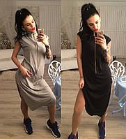 Женское молодежное платье комбинезон
