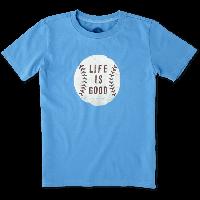 Детская футболка для мальчиков Life Is Good Boys Baseball Tee