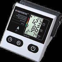 Тонометр автоматический на плечо Diagnostic DM-500 IHB с индикатором аритмии, память на 120 измерений, Польша