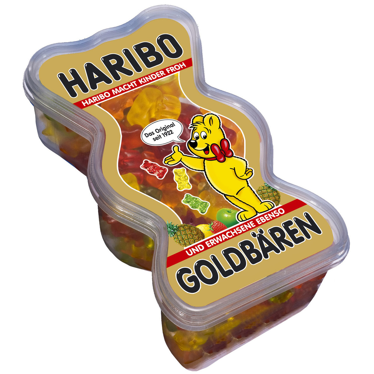 Жевательный мармелад Haribo Goldbaren (желейки харибо), 430 гр.