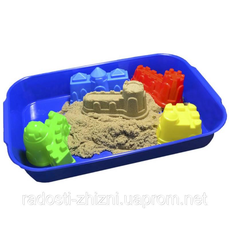 """Набор """"Замки"""" с кинетическим песком WABA FUN 1 кг"""