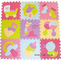 Игровой коврик-пазл «Маленький кенгуренок» BabyGreat GB-M129KB