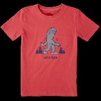 Детская футболка для мальчиков Life Is Good Boys Wild Man Tee