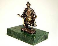 Гетьман бронзовая статуэтка на подставке