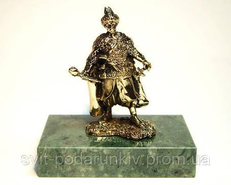 Гетьман бронзовая статуэтка в подарок, фото 2