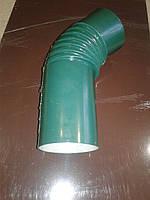 Отвод гофроколено угол 135 градусов из полимерным покрытием.