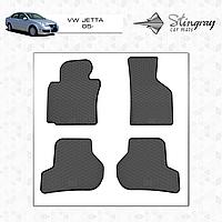Коврики резиновые в салон Volkswagen Jetta c 2005 (4шт) Stingray