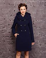 Пальто женское с капюшоном , фото 1