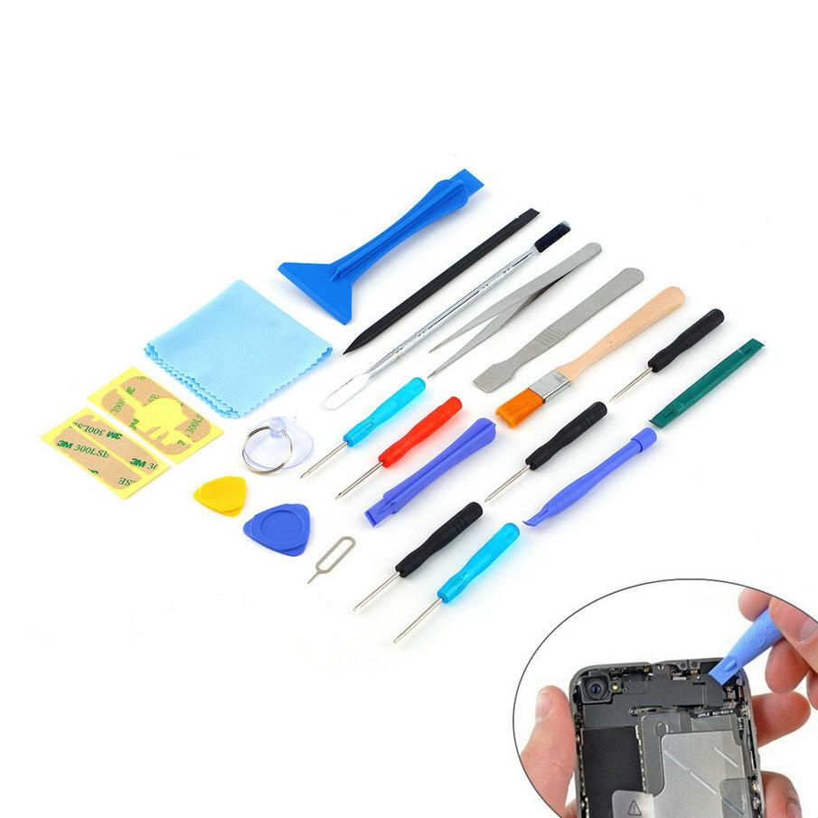 Набор инструментов 22 в 1 для ремонта телефонов, смартфонов, планшетов