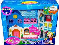 Кукольный дом с фигурками 1122B
