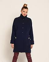 Пальто женское свободный крой, фото 1