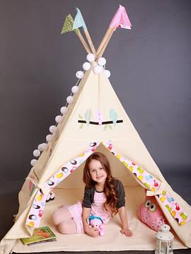 Детский рай в шалаше. Создадим?