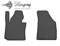 Коврики резиновые в салон Volkswagen Jetta c 2005 передние (2шт) Stingray