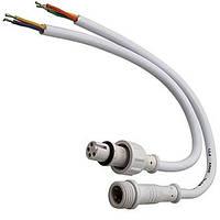 Dilux - Комплект соединительный кабель WP Cable 4pin (2 jack) Mother + Father , Папа + Мама