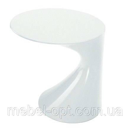 Столик пластиковый Дуэт, диаметр столешницы 45 см, высота стола 45 см, SDMASD057W