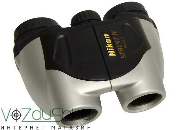 бинокль Nikon Sprint 10x21 CF silver