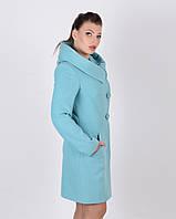 Пальто женское приталенное с капюшоном, фото 1