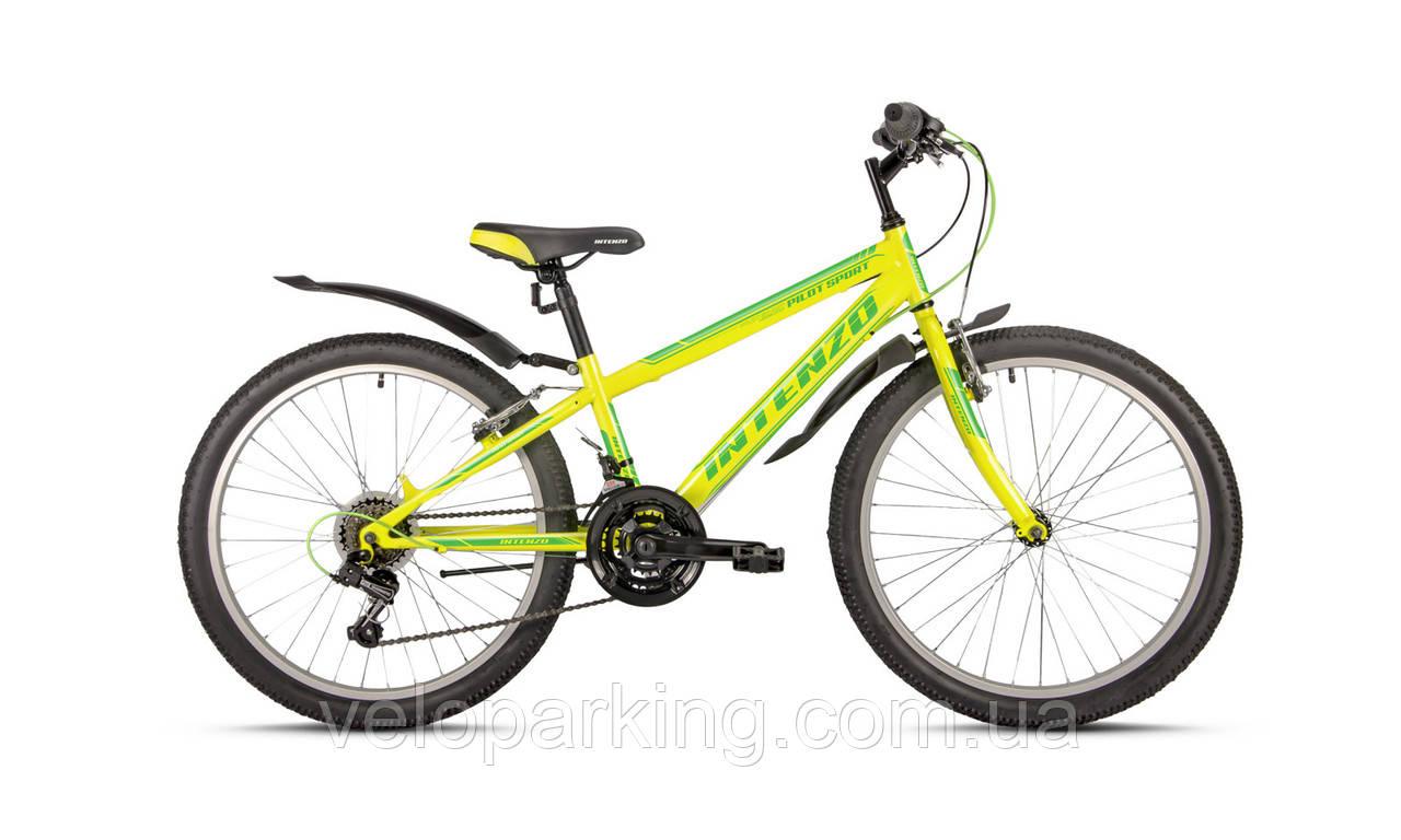 Горный подростковый велосипед Intenzo Pilot sport 24 (2017) VB new
