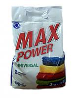 Стиральный порошок автомат MAX universal (без фосфатов) 3кг  (Чехия)