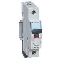 Автоматический выключатель Legrand TX3 -1P 10А, С