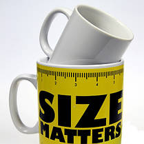 Кружка гигант Size Matters, 1л, фото 3