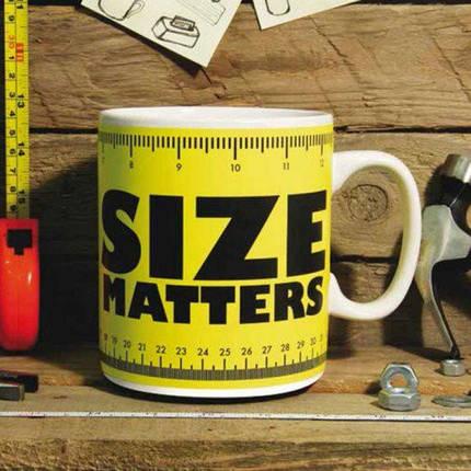 Кружка гигант Size Matters, 1л, фото 2