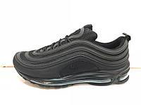 Nike air max 97 рефлективные полностью черные