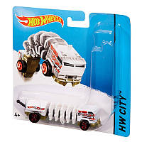 HOT WHEELS МАШИНКА-МУТАНТ ХОТ ВИЛС - POWER TREAD. MATTEL BBY93.