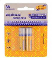 Батарейка щелочная AА.LR6.BP2 (blister 2)