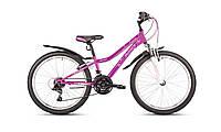 Горный подростковый велосипед для девочки Intenzo Princess 24 (2017) new