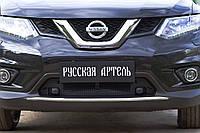 Захисна сітка решітки переднього бампера Nissan X-trail 2015-2018 р. в.
