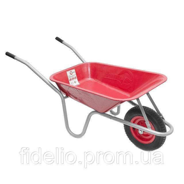 Тачка садово-строительная одноколесная INTERTOOL WB-0613