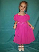 Платье -туника для девочки розовая