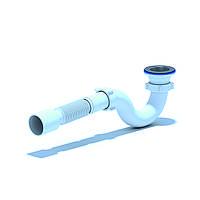 АНИ Сифон (Е115) для душ поддона прямоточный,  выпуск 70 мм (выход 50 мм)